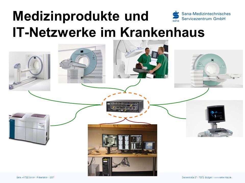 Medizinprodukte und IT-Netzwerke im Krankenhaus