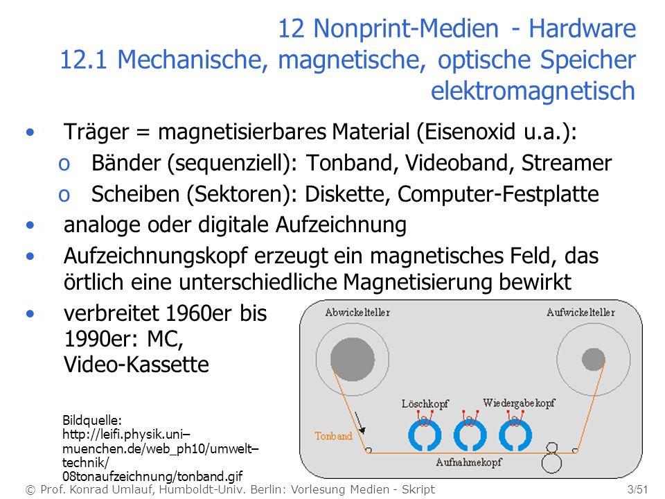12 Nonprint-Medien - Hardware 12