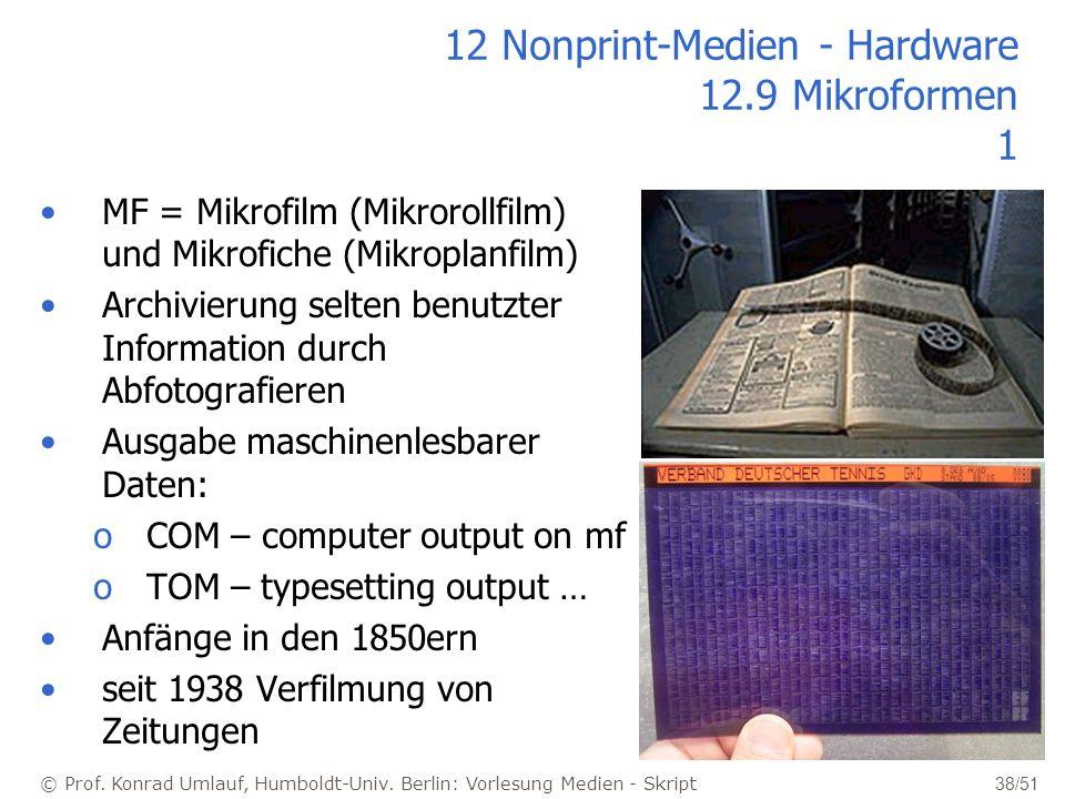 12 Nonprint-Medien - Hardware 12.9 Mikroformen 1