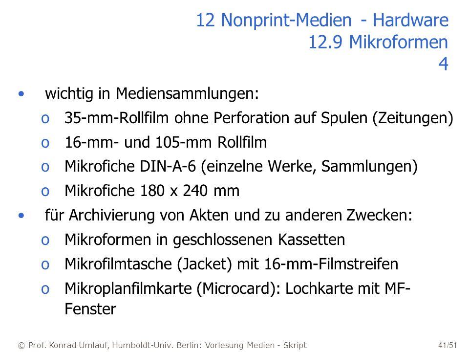 12 Nonprint-Medien - Hardware 12.9 Mikroformen 4