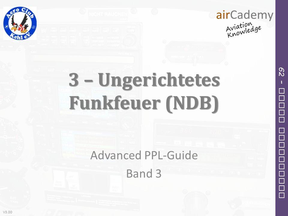 3 – Ungerichtetes Funkfeuer (NDB)