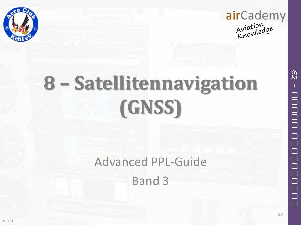 8 – Satellitennavigation (GNSS)