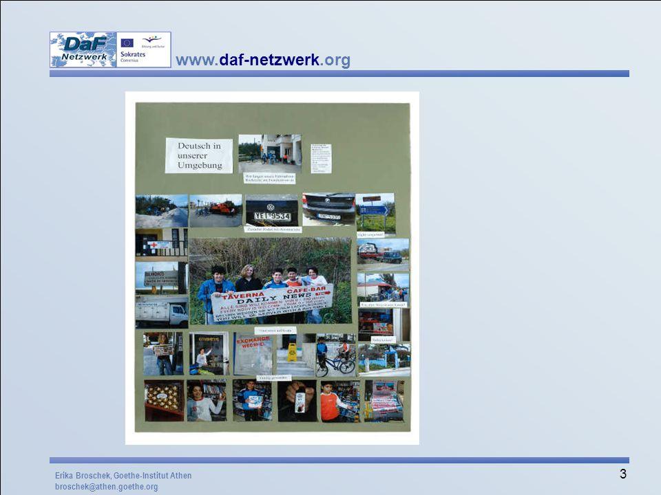 Der Beitrag eines Schülergruppe aus Kreta