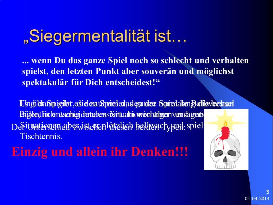 """""""Siegermentalität ist…"""