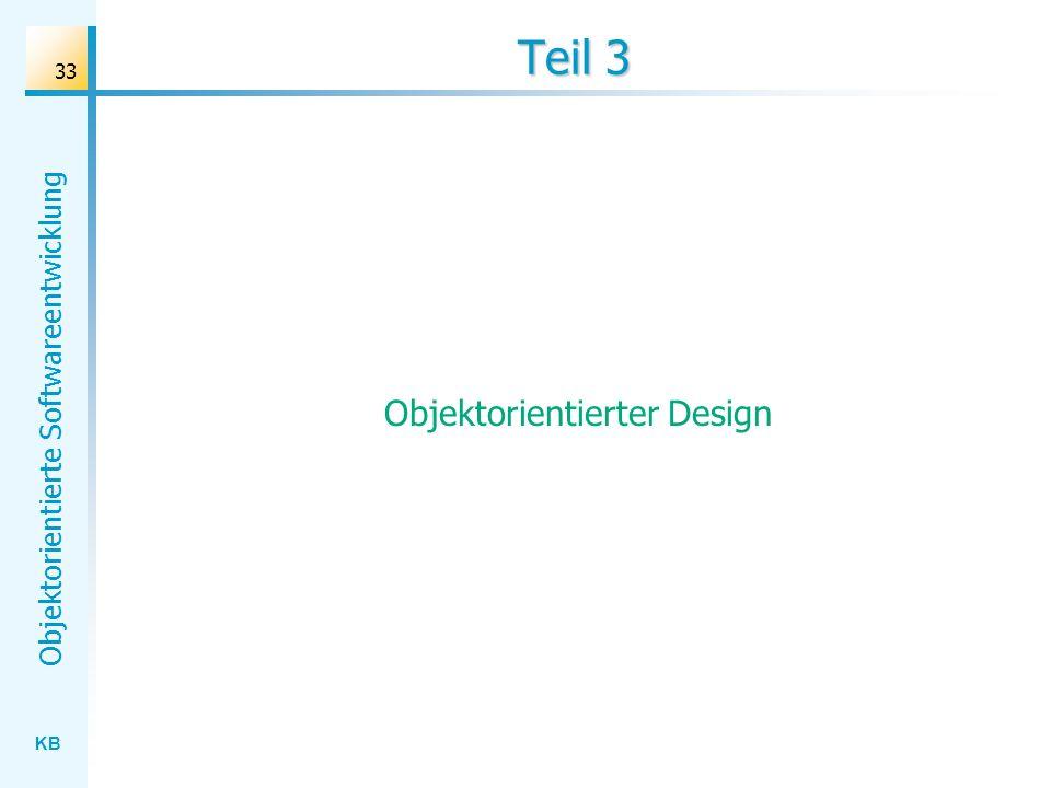 Objektorientierter Design