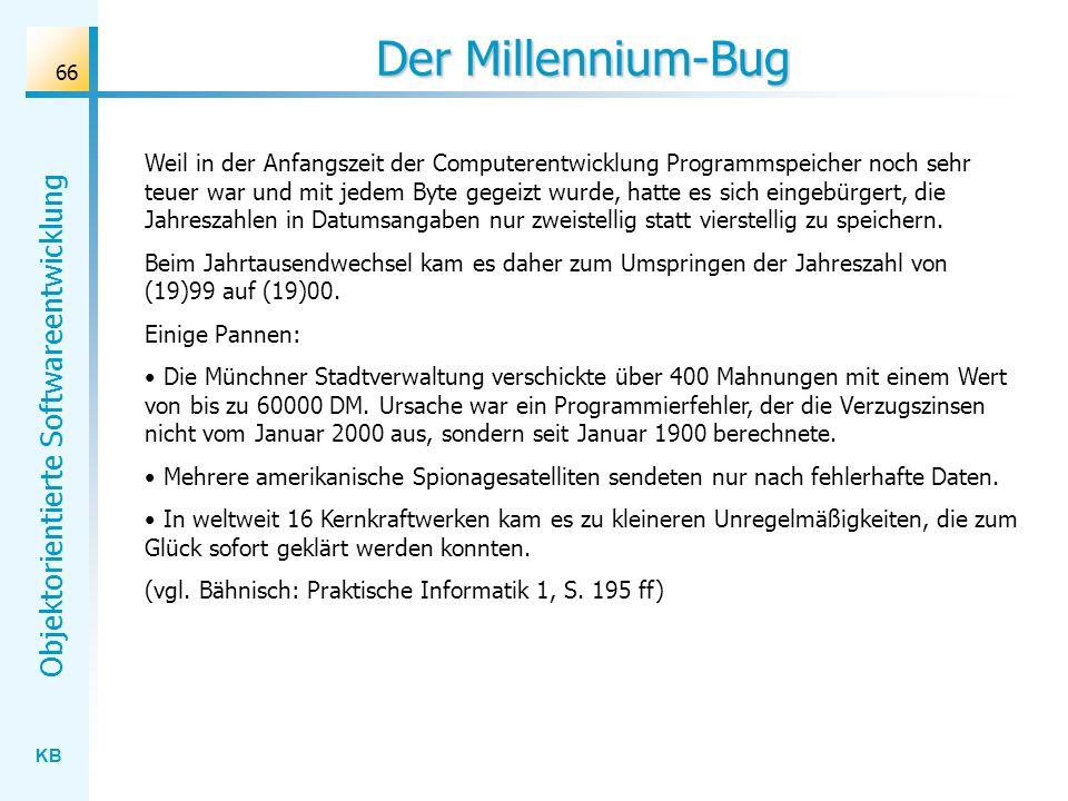 Der Millennium-Bug