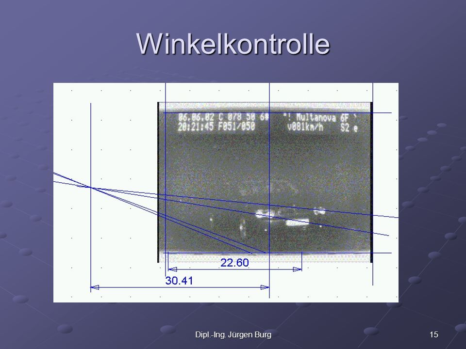 Winkelkontrolle Dipl.-Ing. Jürgen Burg