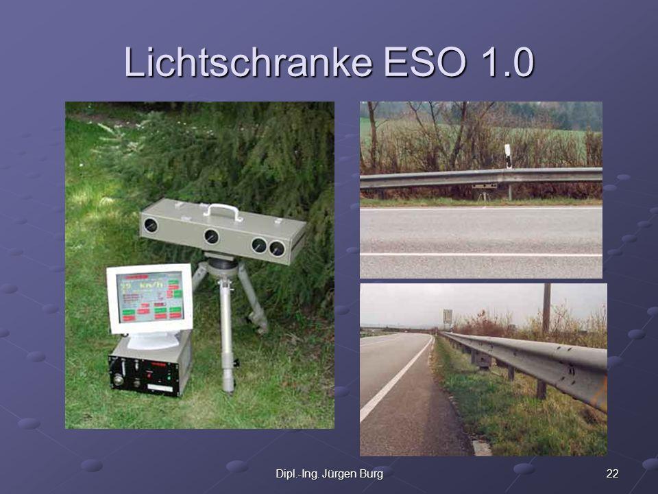 Lichtschranke ESO 1.0 Dipl.-Ing. Jürgen Burg