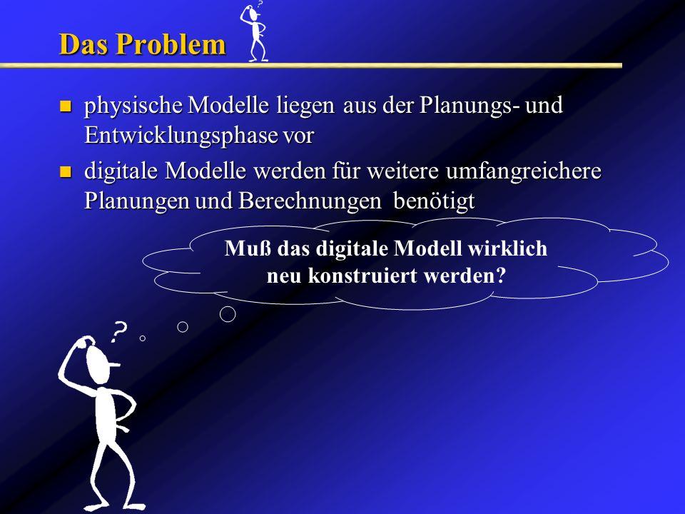 Muß das digitale Modell wirklich neu konstruiert werden