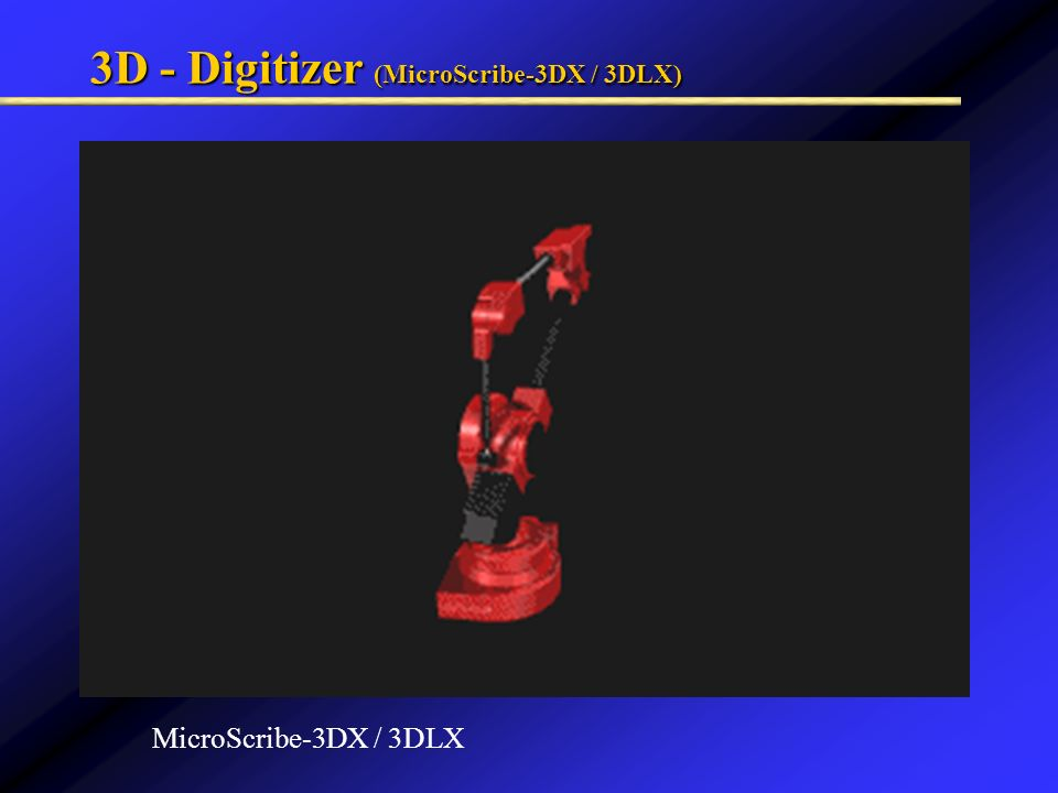 3D - Digitizer (MicroScribe-3DX / 3DLX)