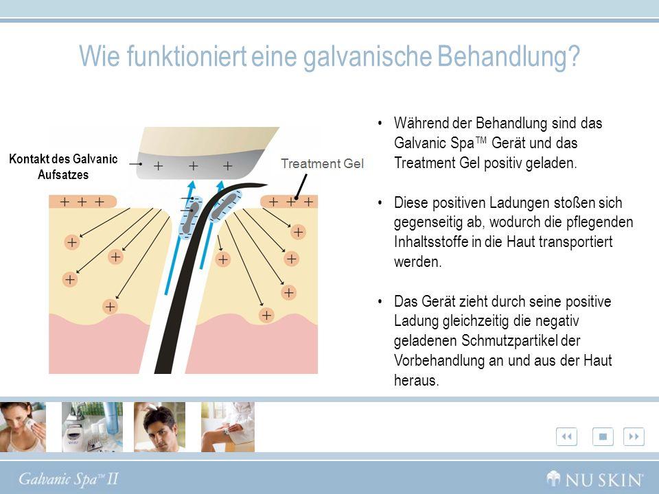 Wie funktioniert eine galvanische Behandlung