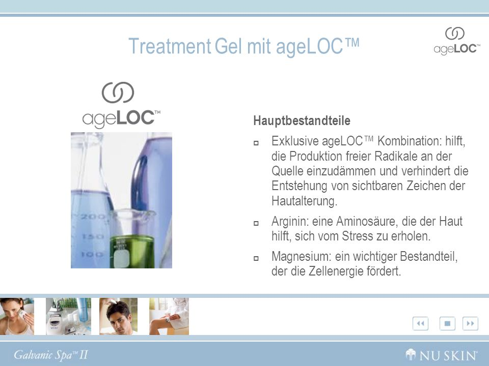 Treatment Gel mit ageLOC™