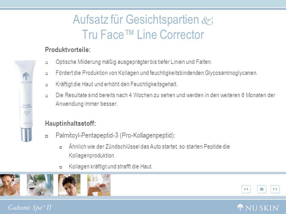 Aufsatz für Gesichtspartien  Tru Face™ Line Corrector