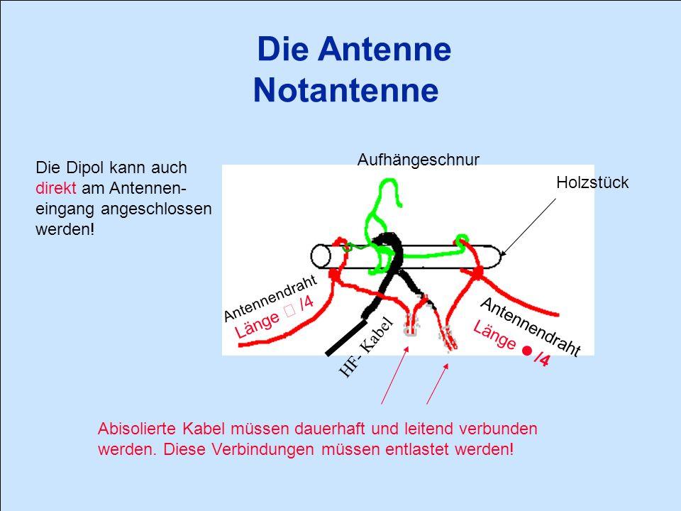 Die Antenne Notantenne