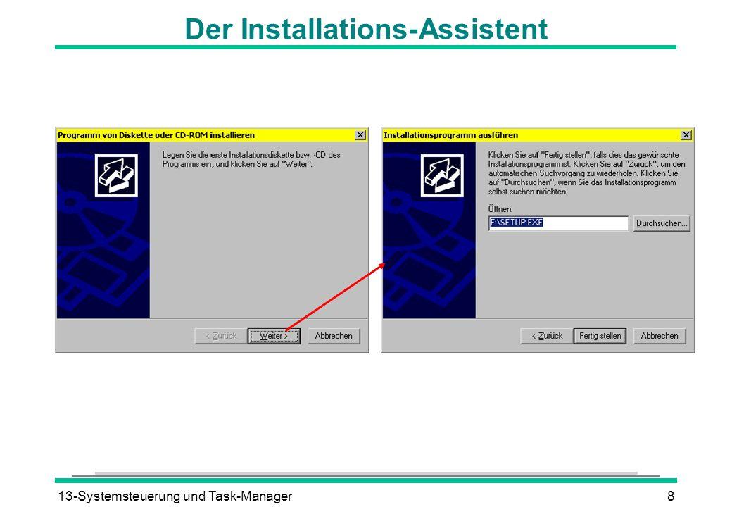 Der Installations-Assistent