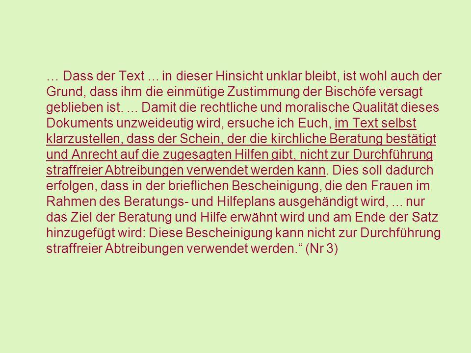 … Dass der Text ...
