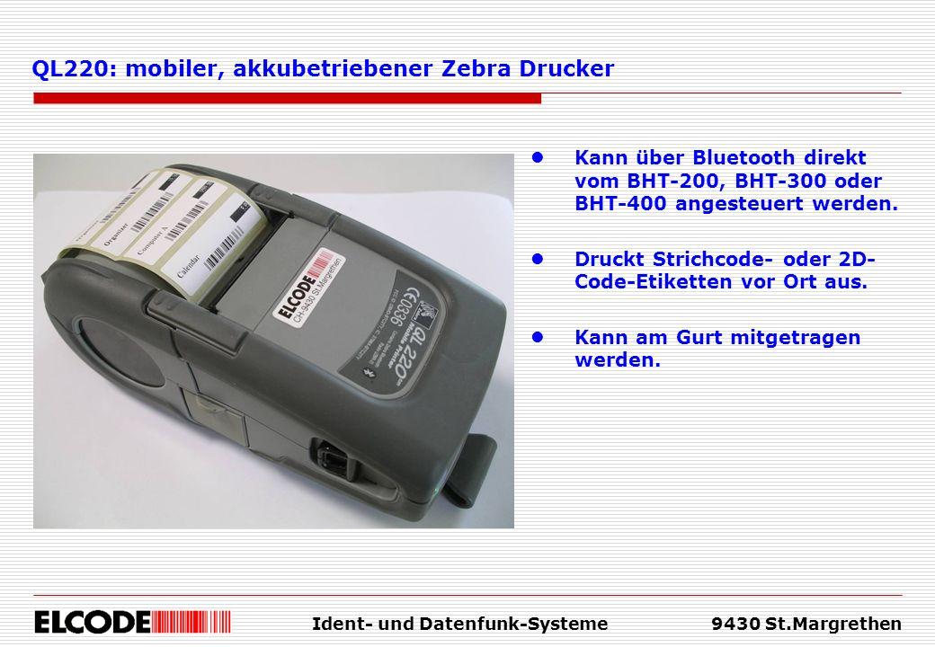Ident- und Datenfunk-Systeme