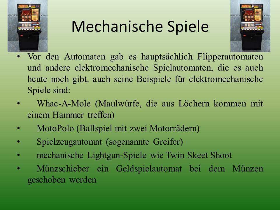 Mechanische Spiele