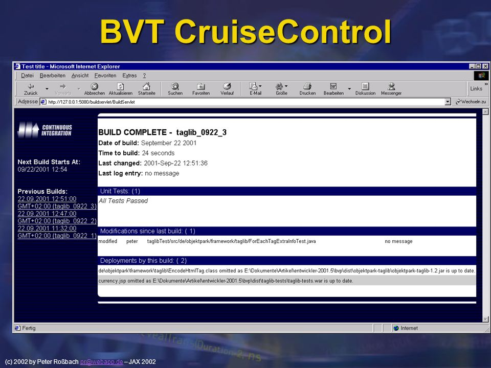 BVT CruiseControl