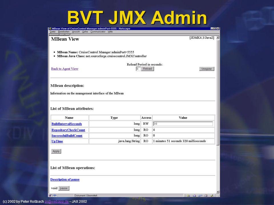 BVT JMX Admin