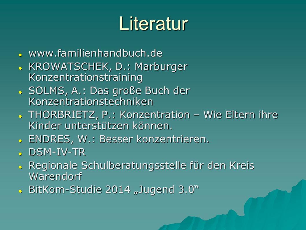 Literatur www.familienhandbuch.de