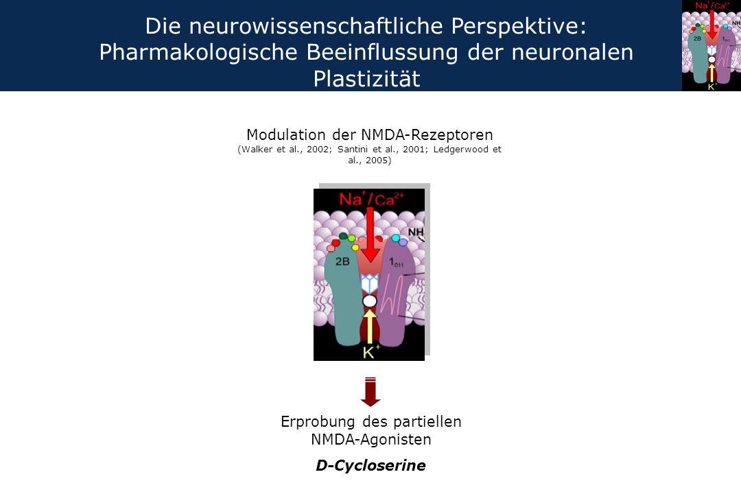 Erprobung des partiellen NMDA-Agonisten