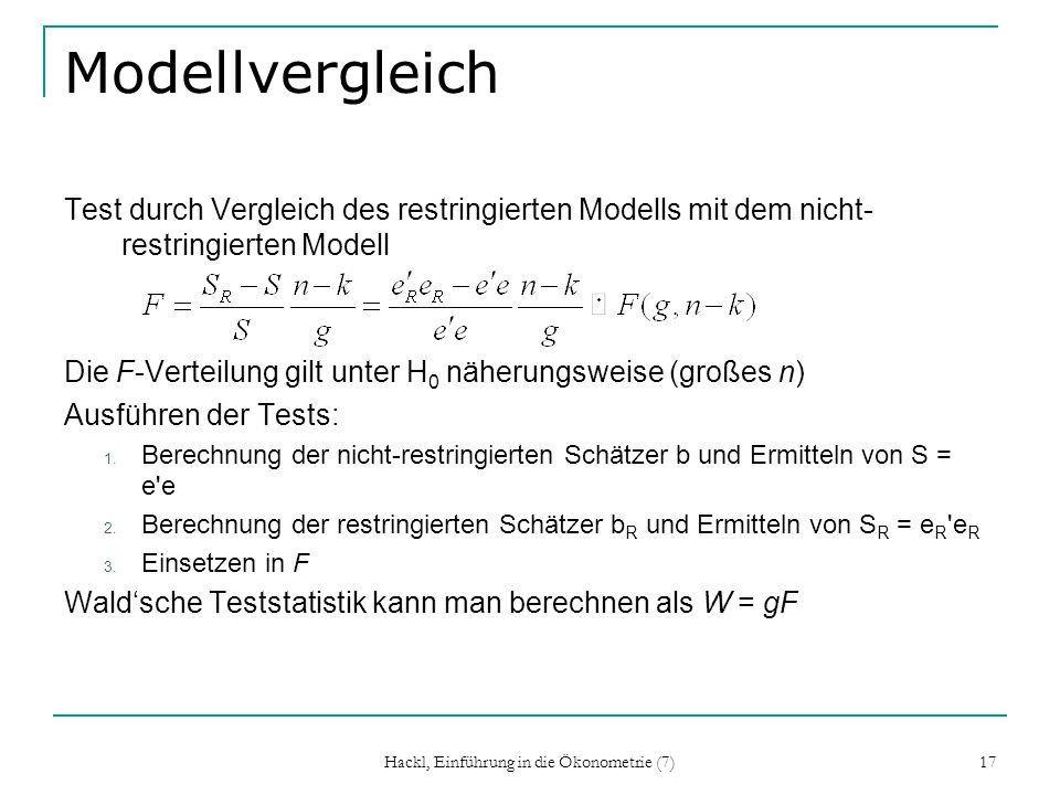 Hackl, Einführung in die Ökonometrie (7)