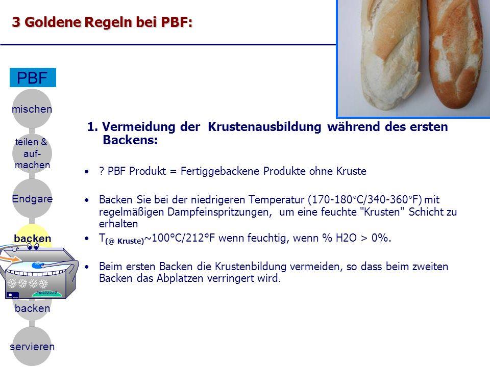 PBF 3 Goldene Regeln bei PBF: mischen