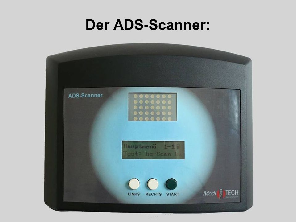 Der ADS-Scanner: