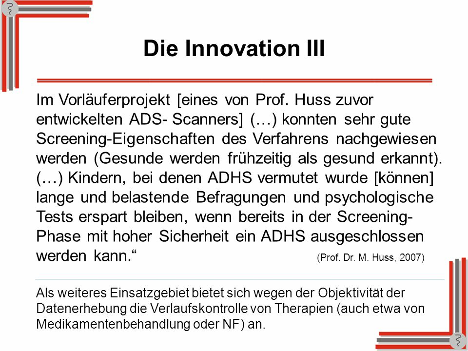 Die Innovation III