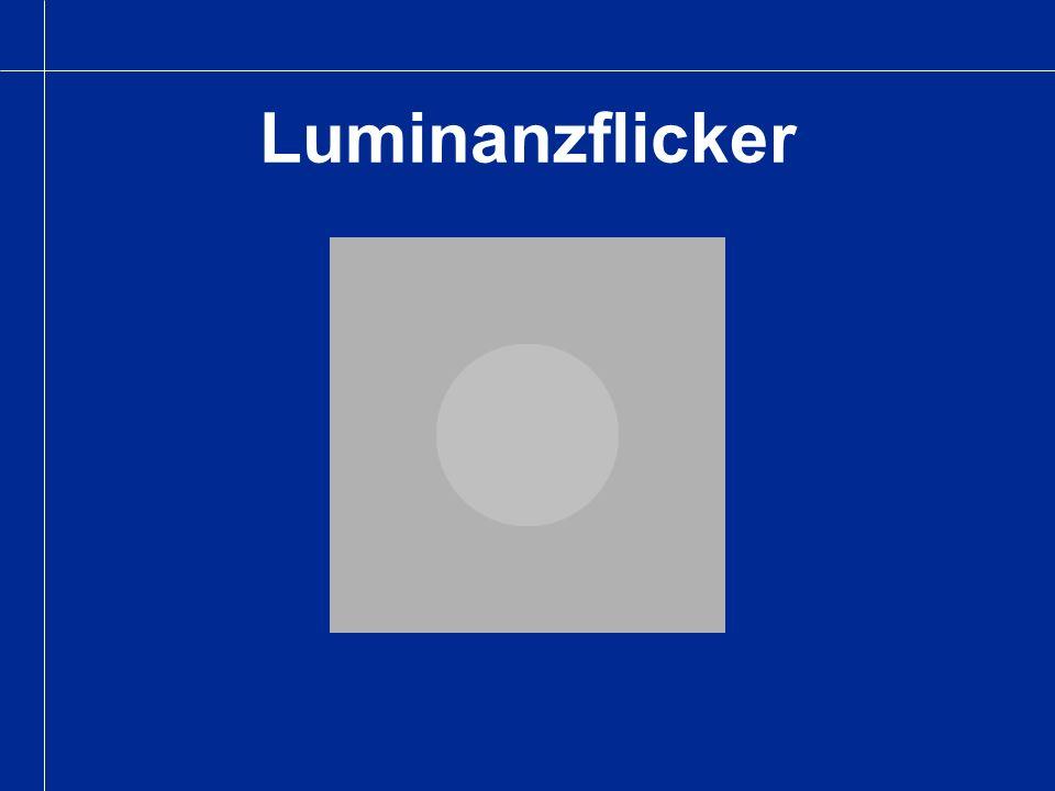 Luminanzflicker