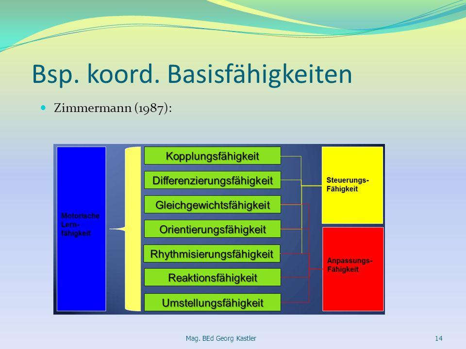 Bsp. koord. Basisfähigkeiten