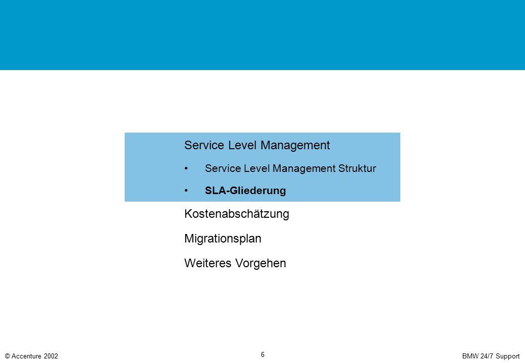 Serviceübergreifende Darstellungen und Vereinbarungen