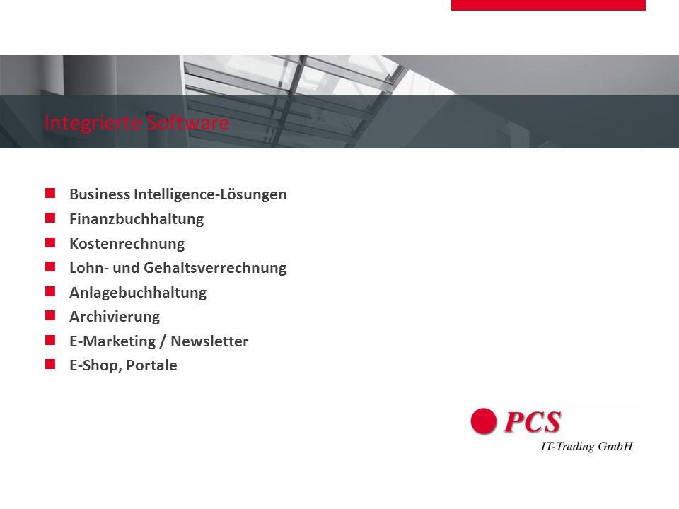 Integrierte Software Business Intelligence-Lösungen Finanzbuchhaltung