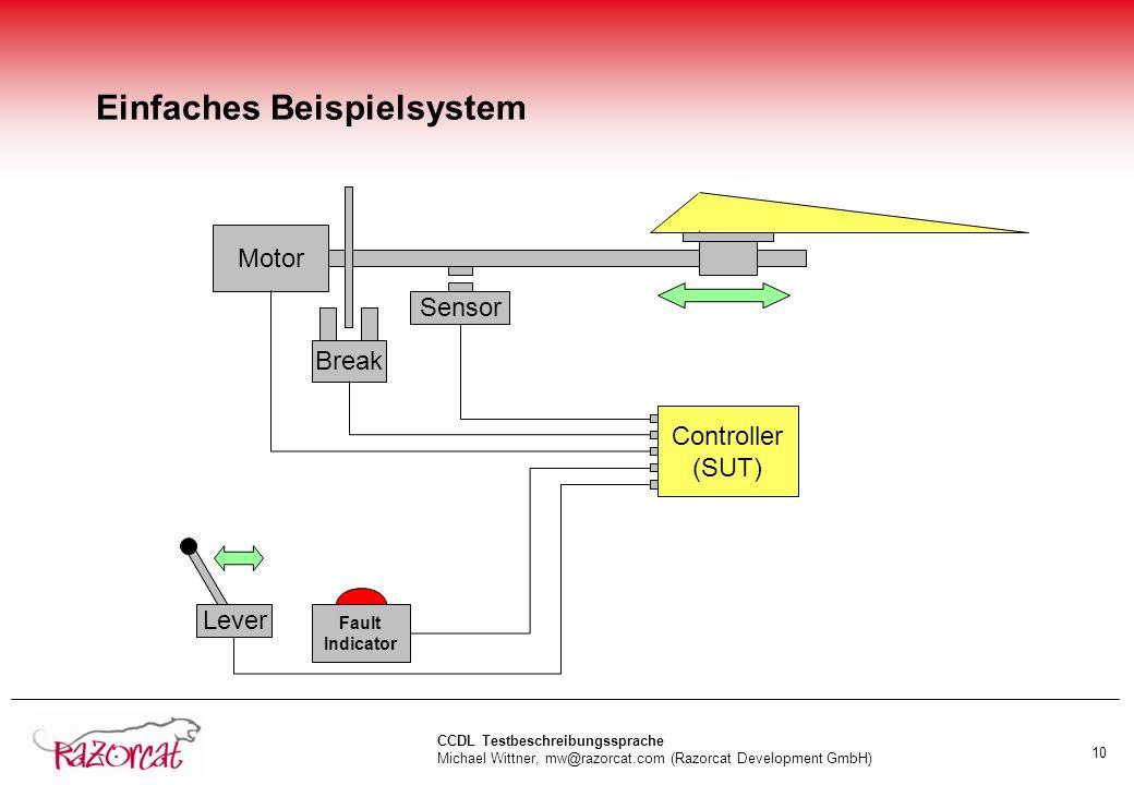 Einfaches Beispielsystem