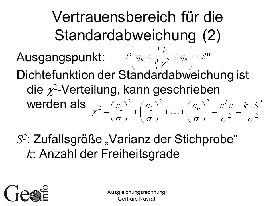 Vertrauensbereich für die Standardabweichung (2)
