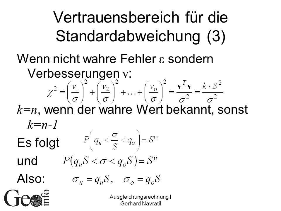Vertrauensbereich für die Standardabweichung (3)