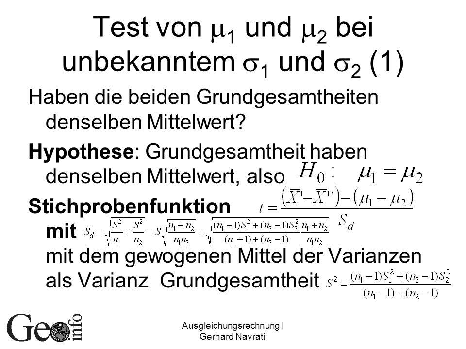 Test von m1 und m2 bei unbekanntem s1 und s2 (1)
