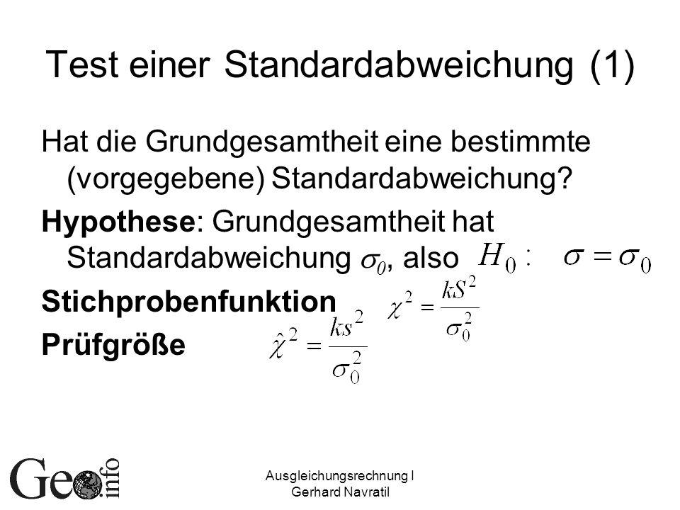 Test einer Standardabweichung (1)