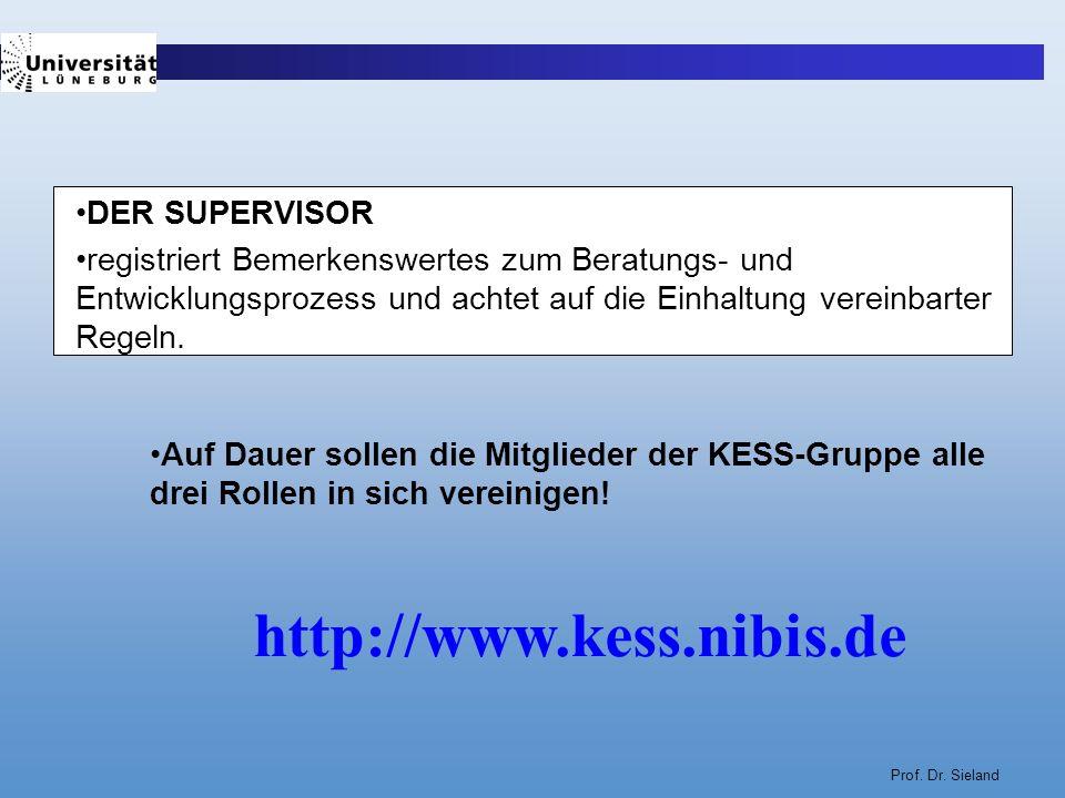 http://www.kess.nibis.de DER SUPERVISOR