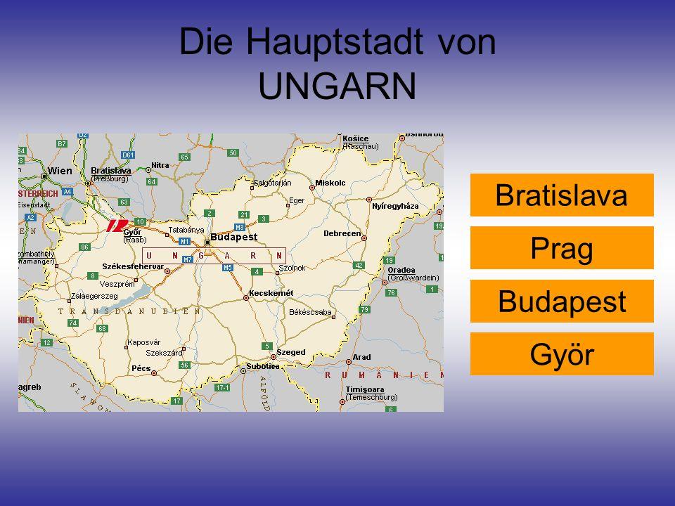 Die Hauptstadt von UNGARN