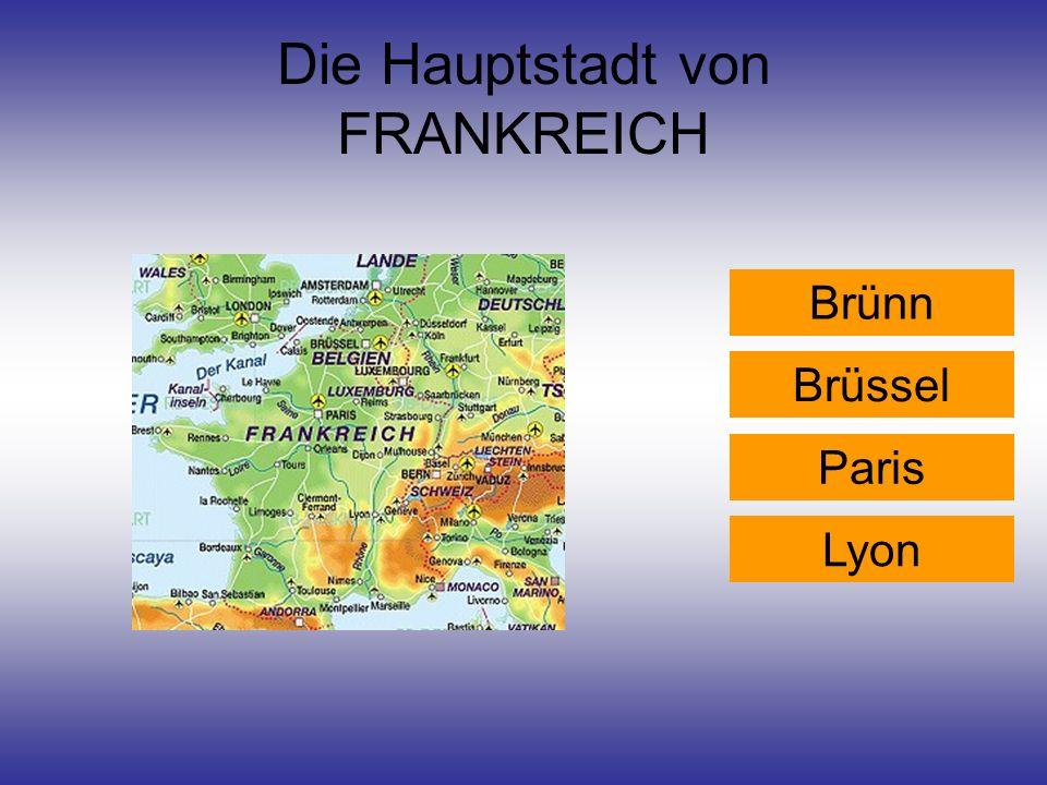 Die Hauptstadt von FRANKREICH