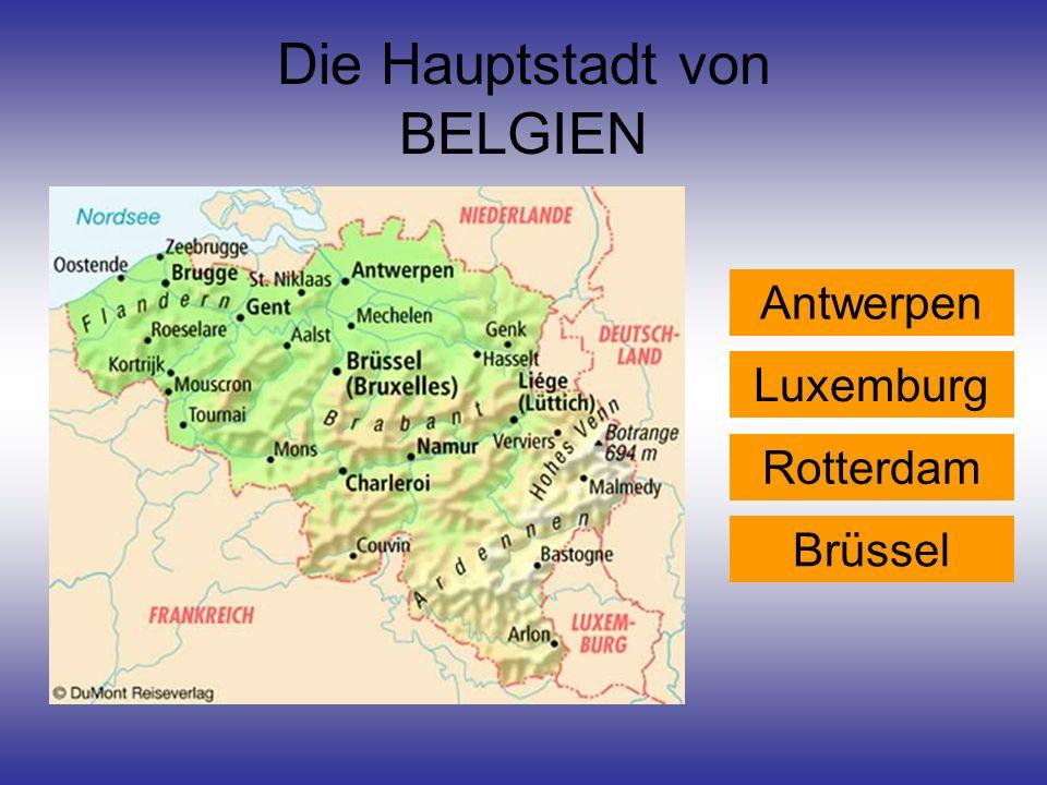 Die Hauptstadt von BELGIEN