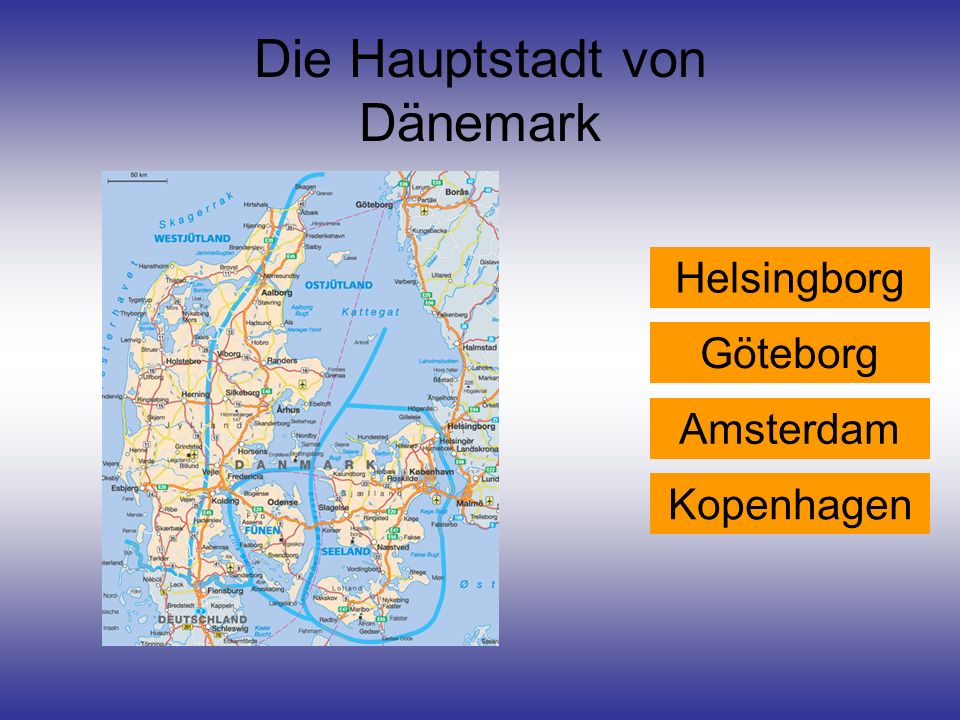 Die Hauptstadt von Dänemark