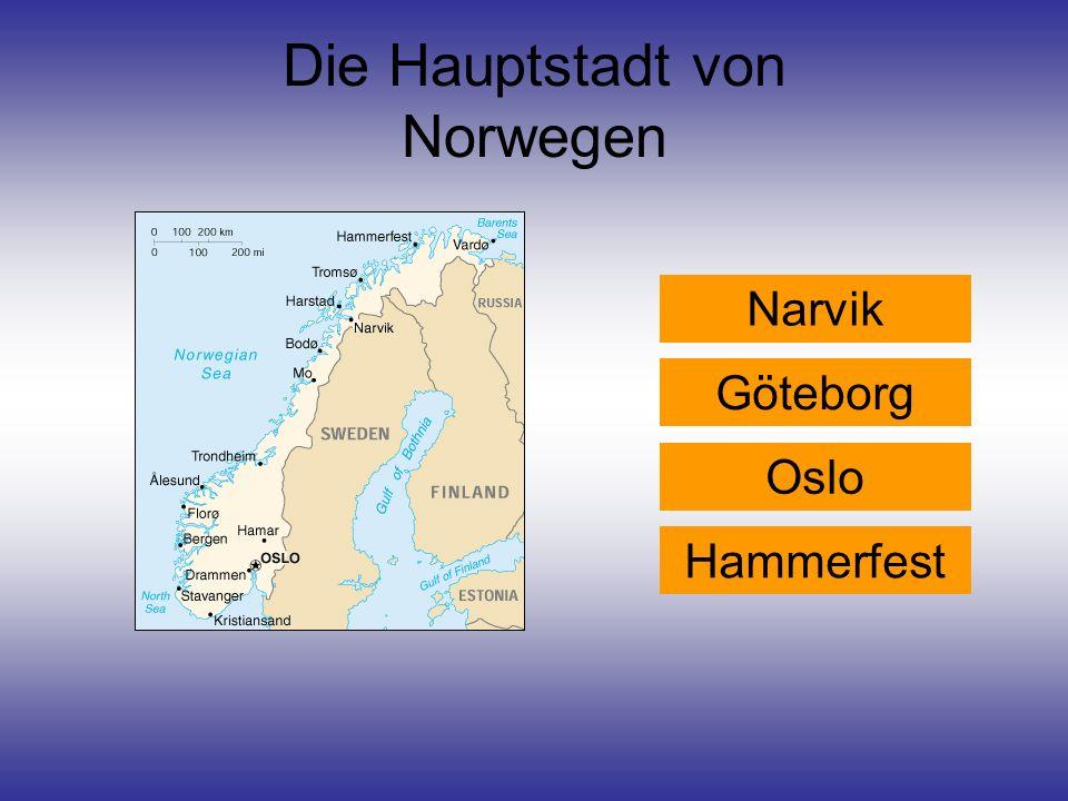 Die Hauptstadt von Norwegen