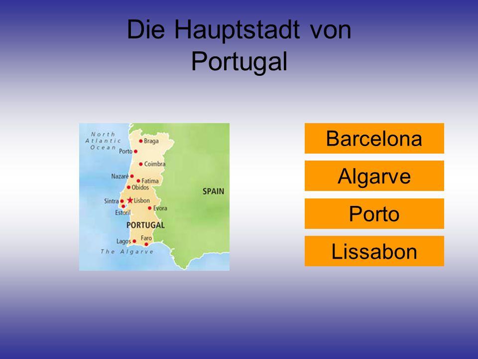 Die Hauptstadt von Portugal