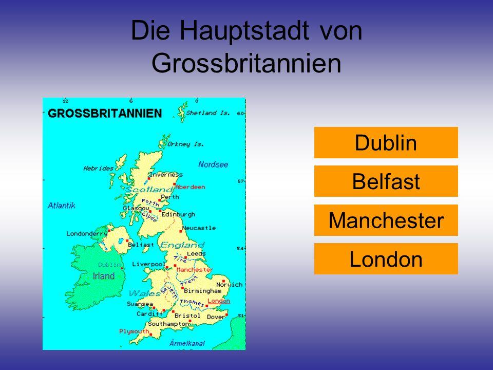 Die Hauptstadt von Grossbritannien