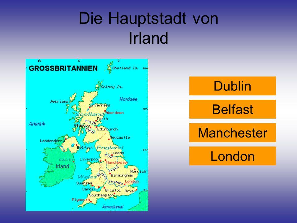 Die Hauptstadt von Irland