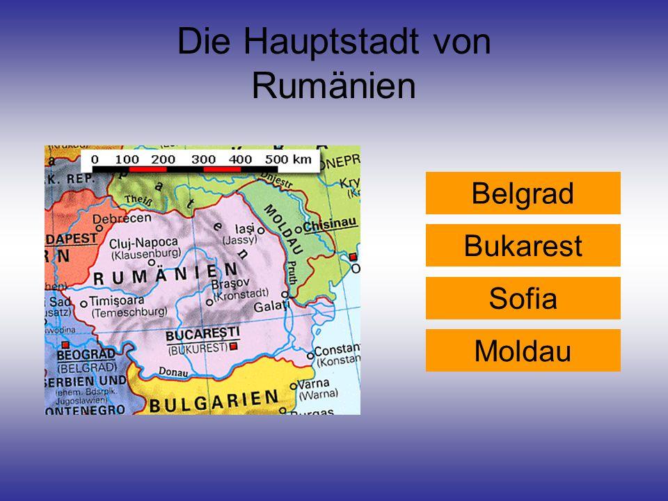 Die Hauptstadt von Rumänien