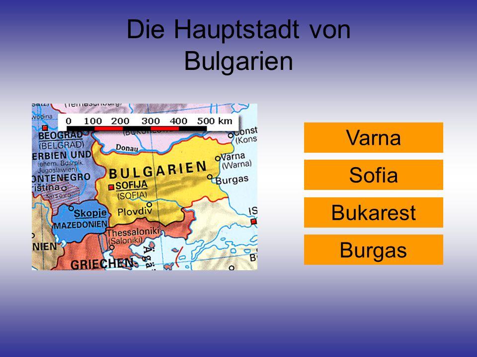 Die Hauptstadt von Bulgarien